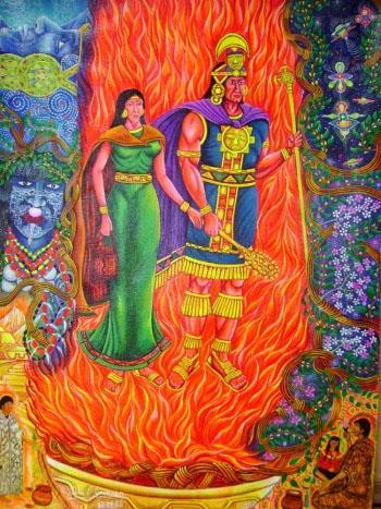 Sapan Inka paiting