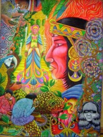 Ayahuasca healer