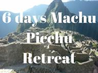 machu picchu retreat