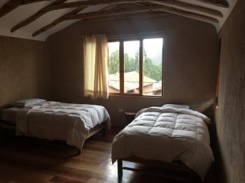 Ayahuasca house room